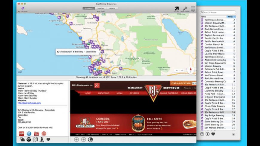 California Breweries for Mac - review, screenshots