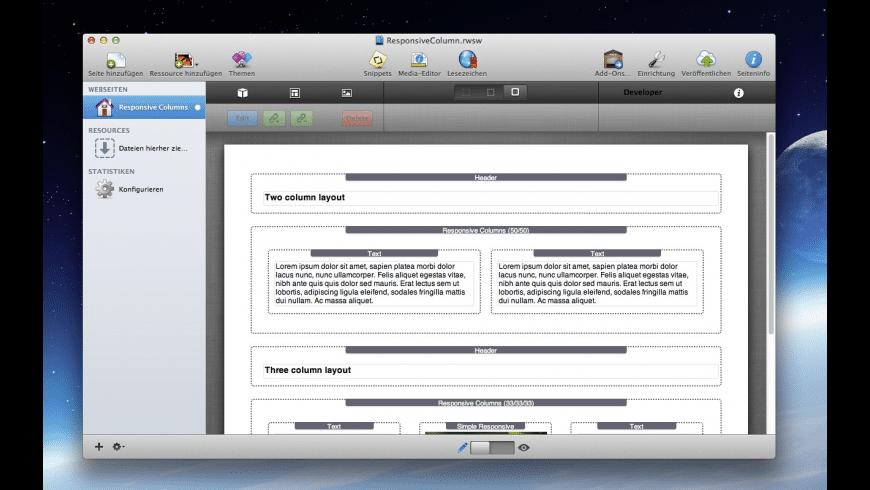 Responsive Columns for Mac - review, screenshots