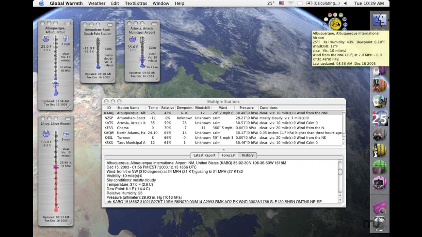 Global Warmth for Mac - review, screenshots