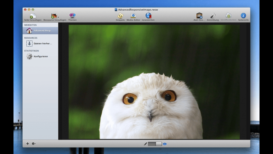 Advanced Responsive Image for Mac - review, screenshots