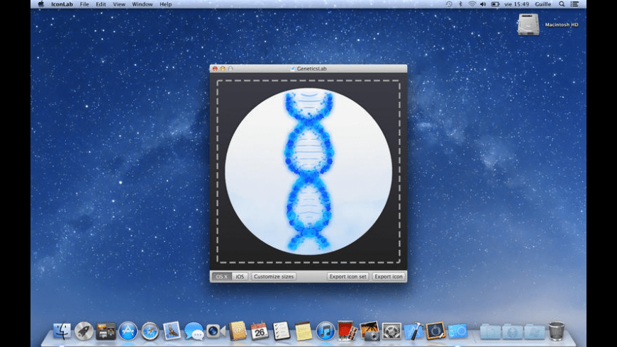 IconLab for Mac - review, screenshots