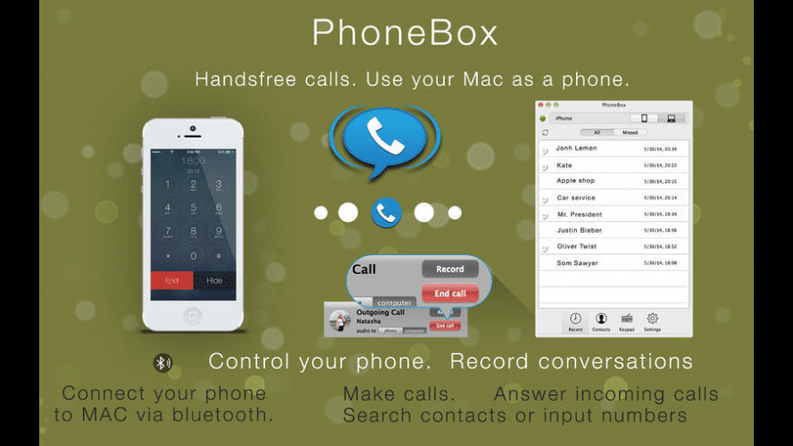 PhoneBox for Mac - review, screenshots