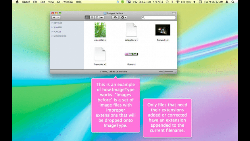 ImageType for Mac - review, screenshots