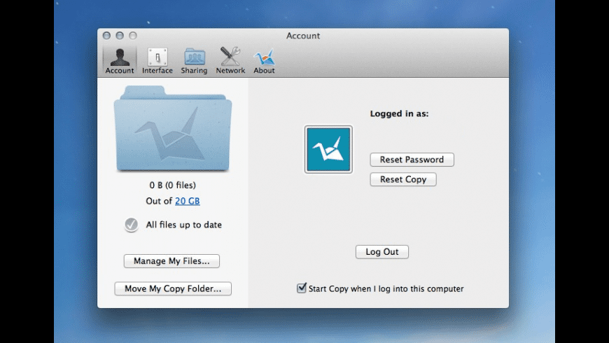 Copy for Mac - review, screenshots