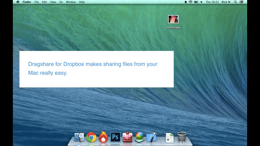 Dragshare for Dropbox for Mac - review, screenshots