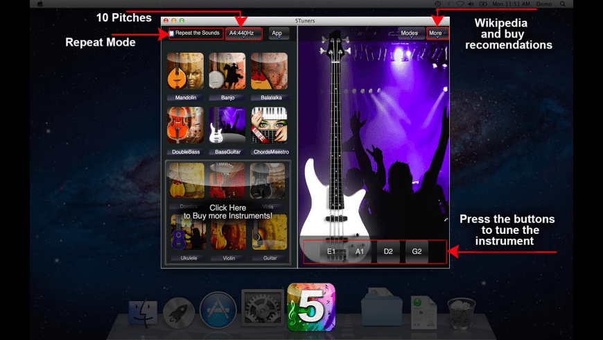 5Tuners for Mac - review, screenshots