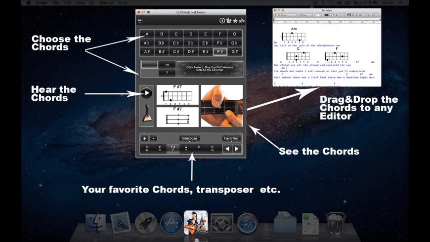 BalalaikaChordsLite for Mac - review, screenshots