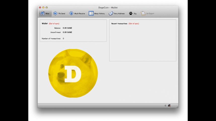 Dogecoin for Mac - review, screenshots