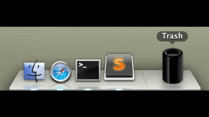 Mac Pro Trash Icon for Mac - review, screenshots