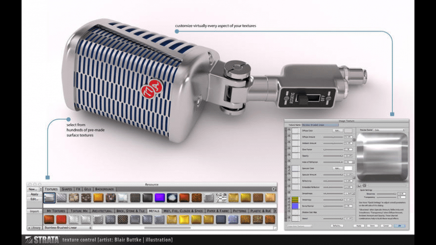 Strata Design 3D SE for Mac - review, screenshots