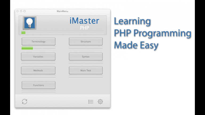 iMaster PHP for Mac - review, screenshots