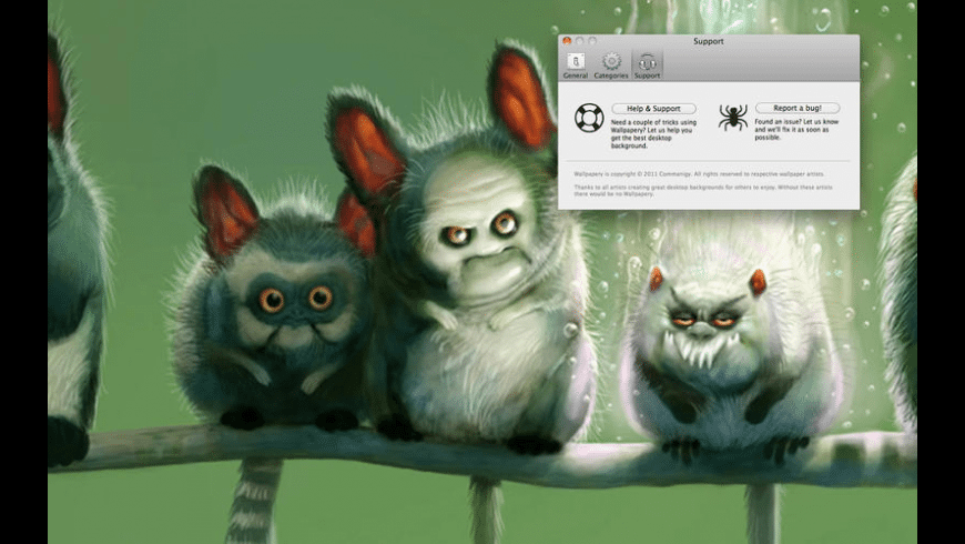 Wallpapery for Mac - review, screenshots