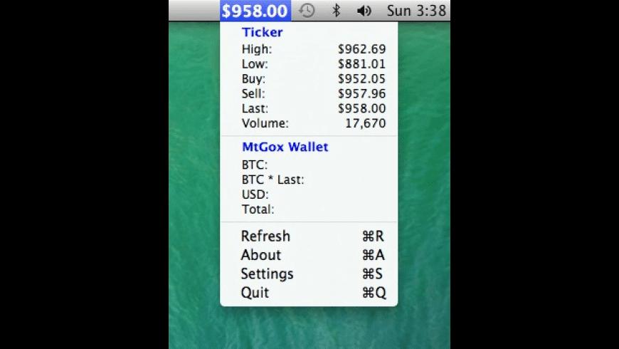 BitTicker for Mac - review, screenshots