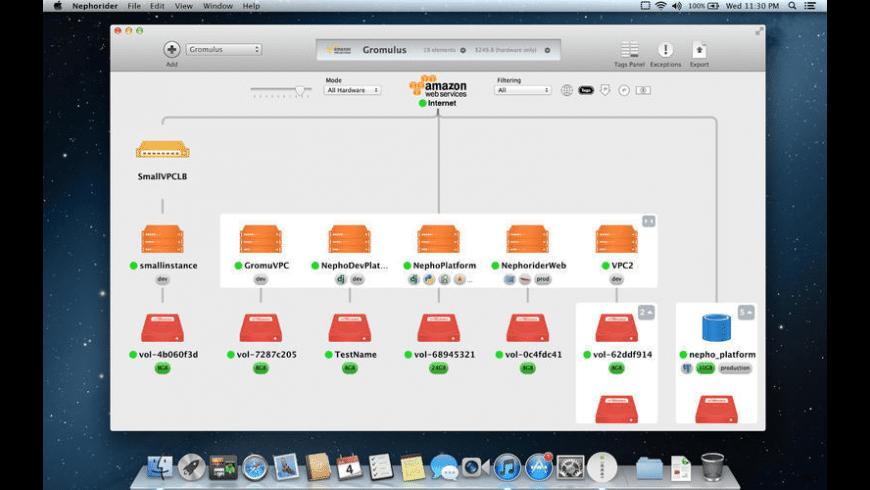 Nephorider for Mac - review, screenshots