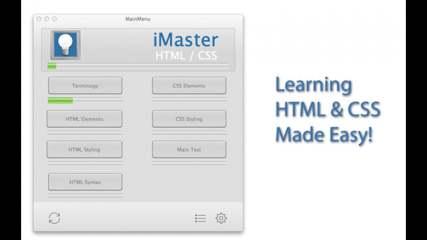 iMaster HTML & CSS for Mac - review, screenshots
