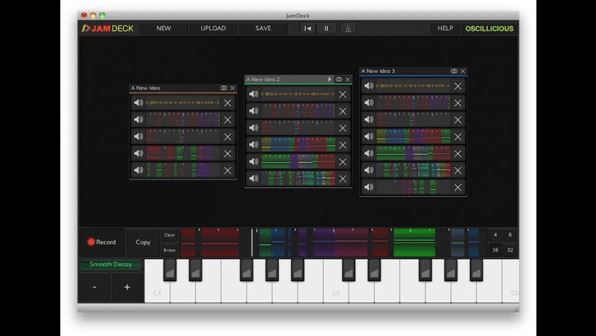 JamDeck for Mac - review, screenshots