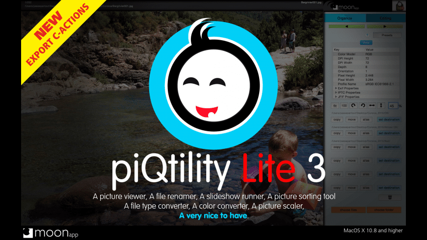 piQtility Lite for Mac - review, screenshots
