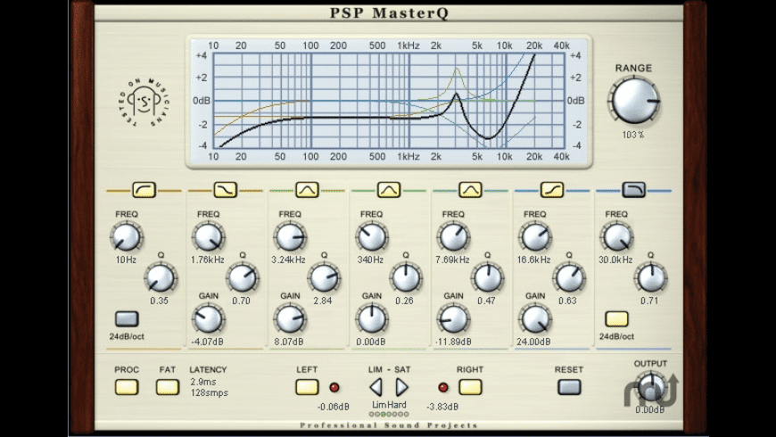 PSP MasterQ for Mac - review, screenshots