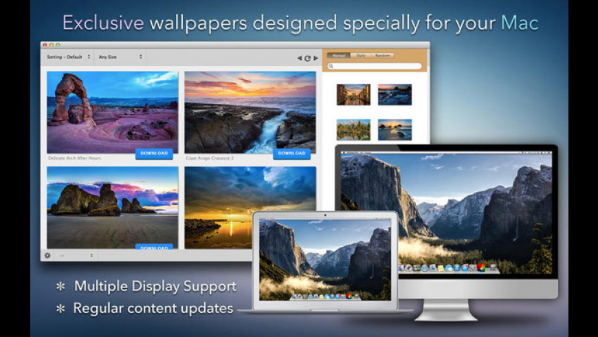 WallpapersPro for Mac - review, screenshots