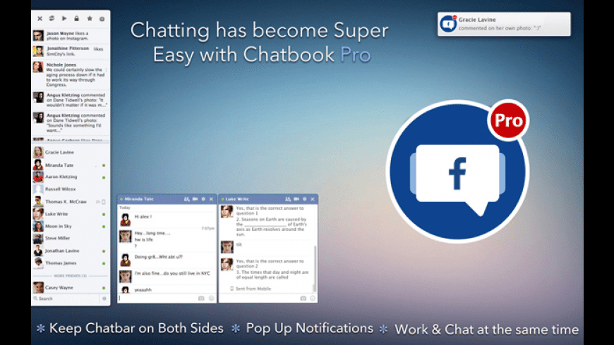 ChatBook Pro for Mac - review, screenshots