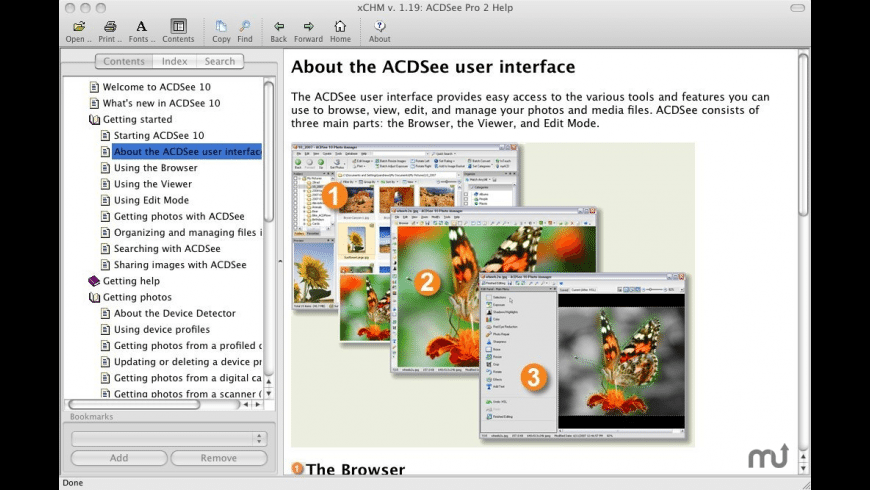 xCHM for Mac - review, screenshots