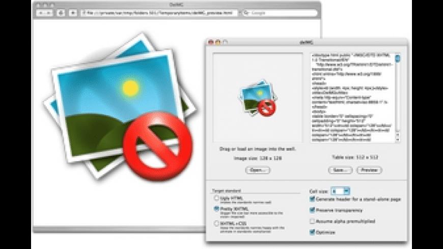 DeIMG for Mac - review, screenshots
