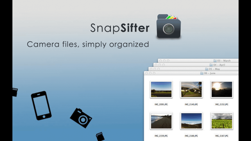 SnapSifter for Mac - review, screenshots