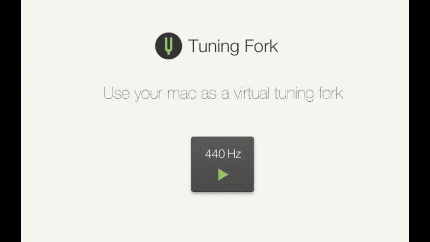 Tuning Fork for Mac - review, screenshots