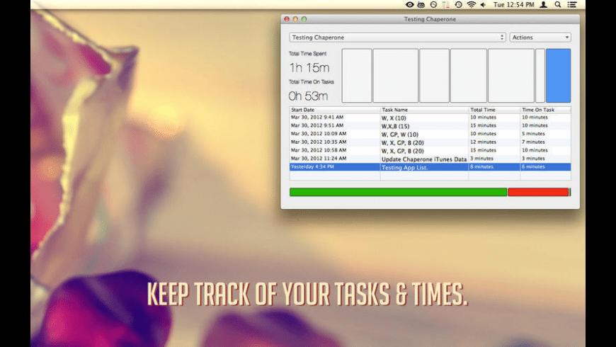 Chaperone for Mac - review, screenshots