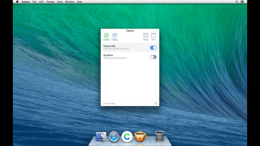 Cactus for Mac - review, screenshots