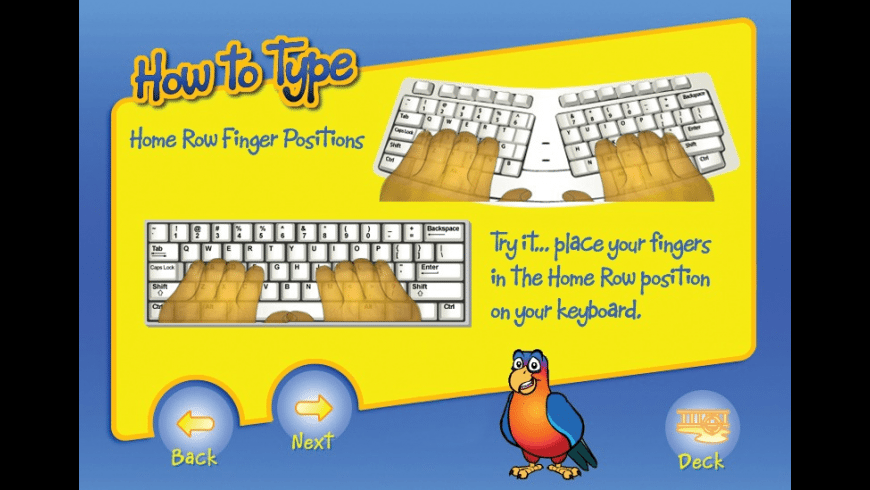 Typing Instructor for Kids Platinum for Mac - review, screenshots