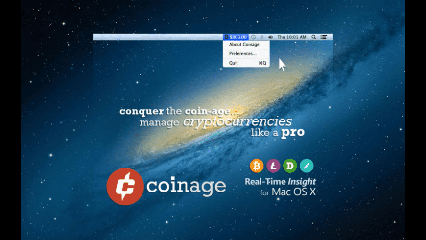 Coinage for Mac - review, screenshots