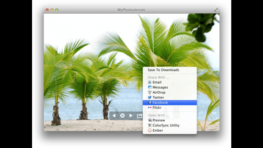 MyPhotostream for Mac - review, screenshots
