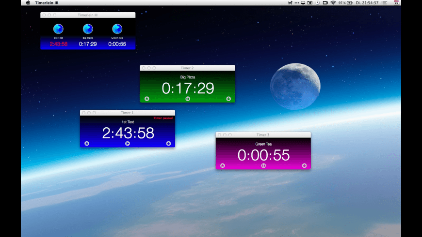 Timerlein III for Mac - review, screenshots