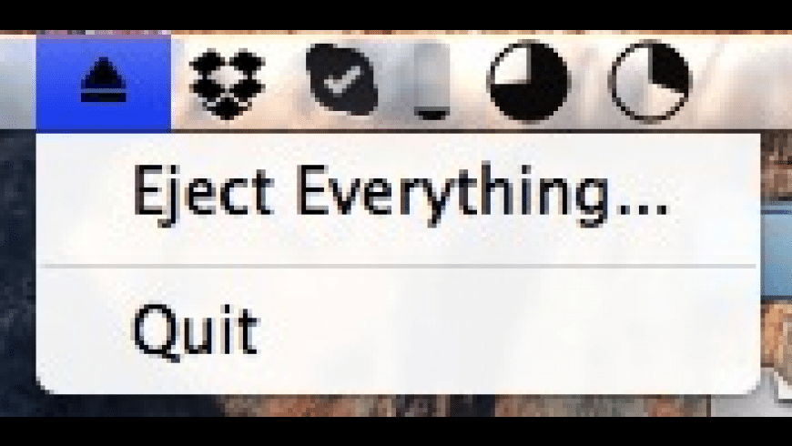 Eject Everything for Mac - review, screenshots