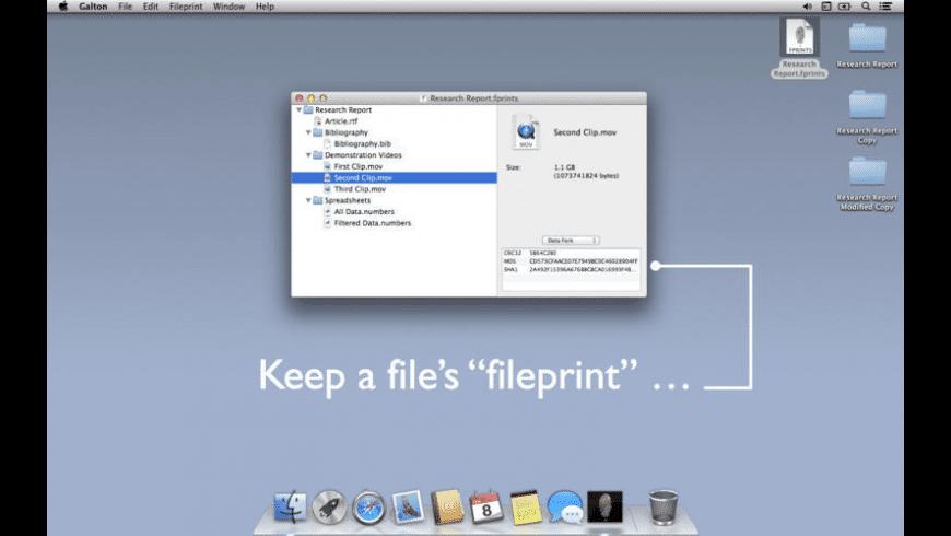 Galton for Mac - review, screenshots