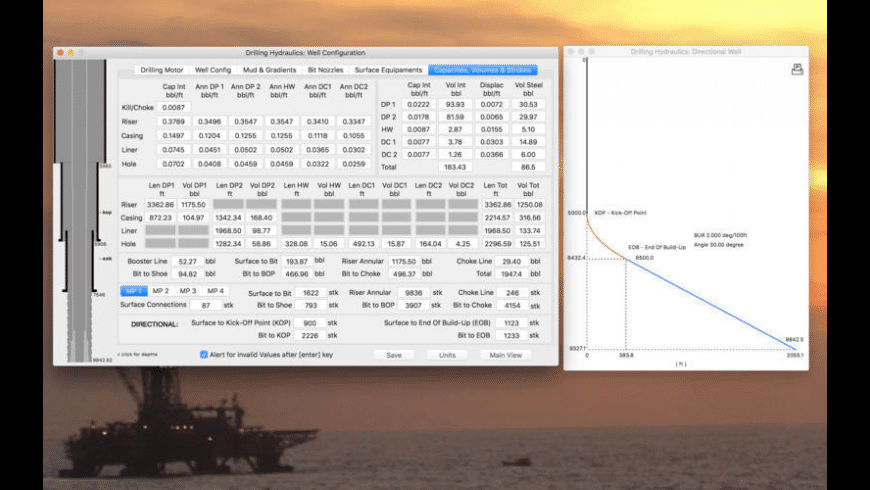Drilling Hydraulics for Mac - review, screenshots