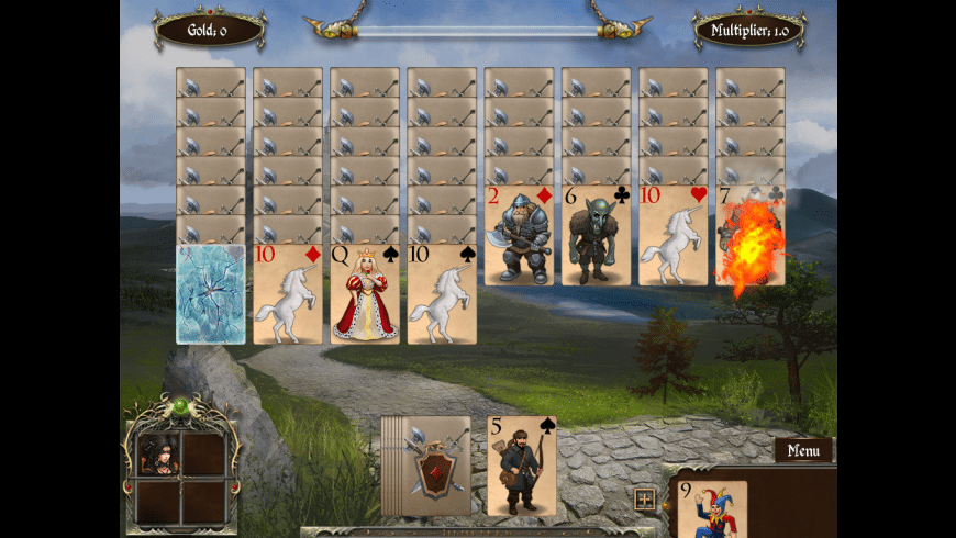Legends of Solitaire: Curse of the Dragons for Mac - review, screenshots