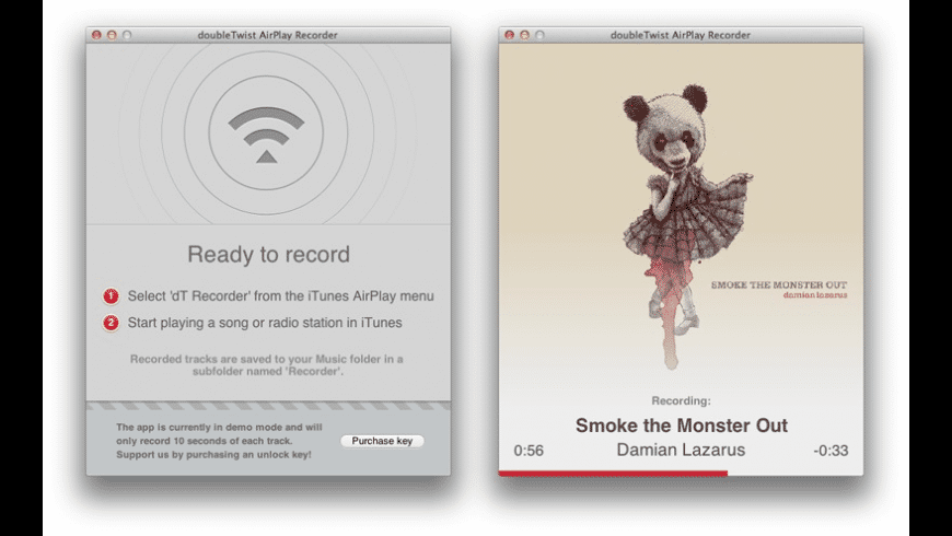 AirPlayRecorder for Mac - review, screenshots