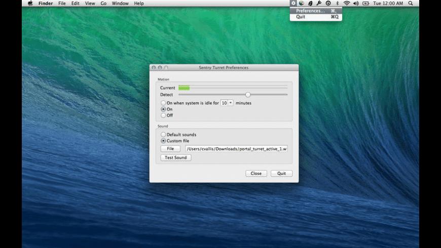 Portal Turret for Mac - review, screenshots
