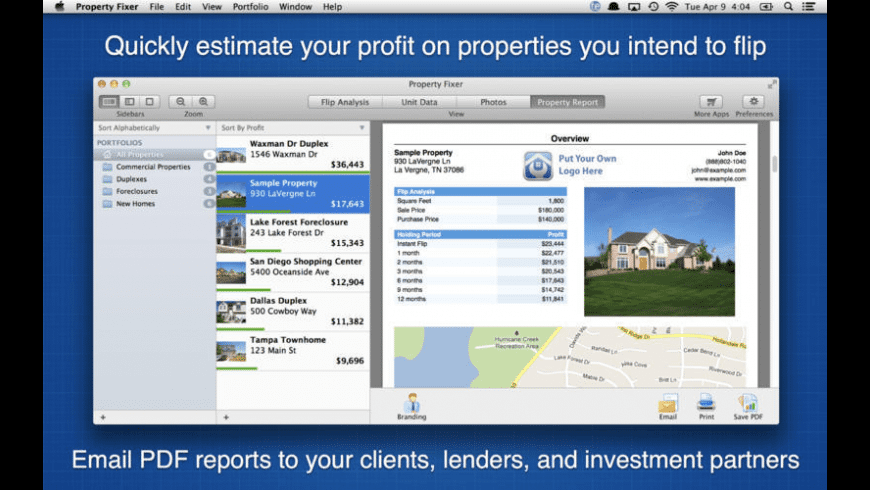 Property Fixer for Mac - review, screenshots