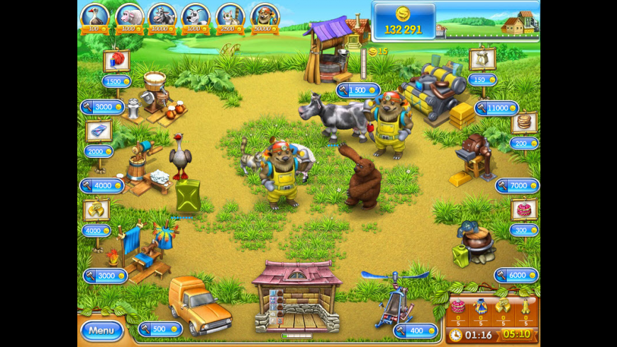 Farm Frenzy 3: Russian Village for Mac - review, screenshots