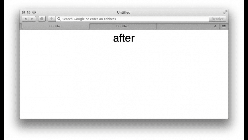 cosyTabs for Mac - review, screenshots