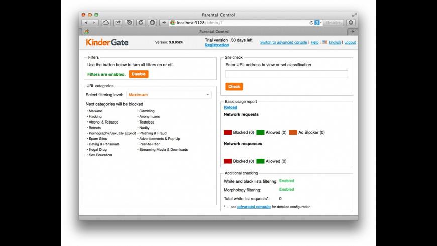KinderGate for Mac - review, screenshots