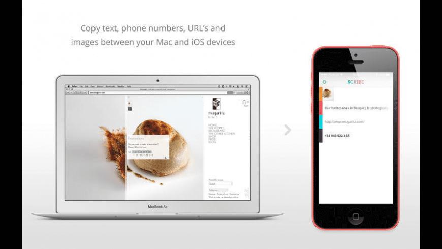 Scribe for Mac - review, screenshots
