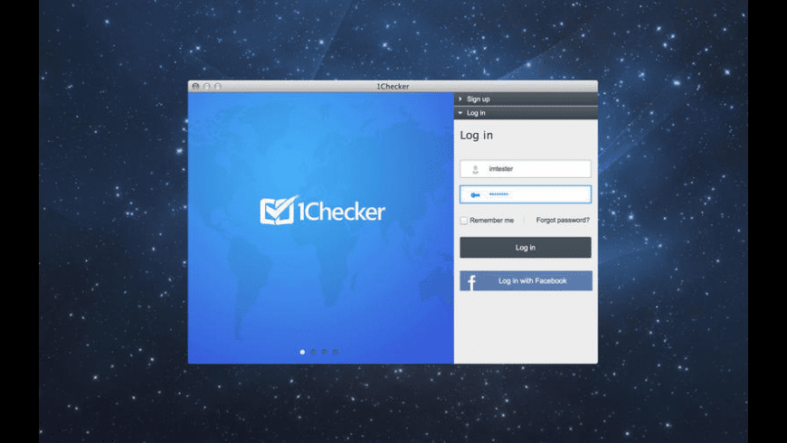 1Checker for Mac - review, screenshots