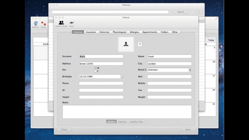 iMedicalOffice for Mac - review, screenshots