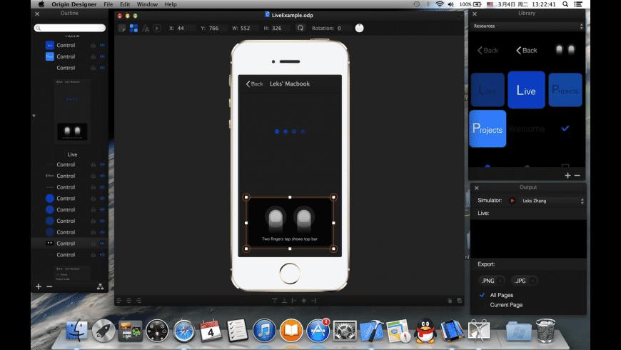 Origin Designer for Mac - review, screenshots