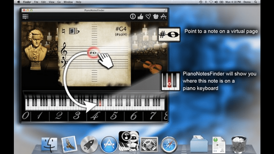 PianoNotesFinder for Mac - review, screenshots