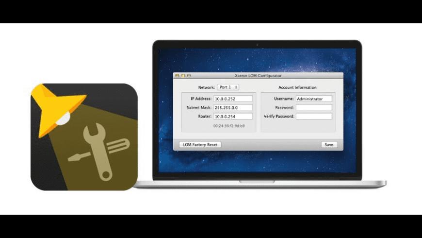 Xserve LOM Configurator for Mac - review, screenshots